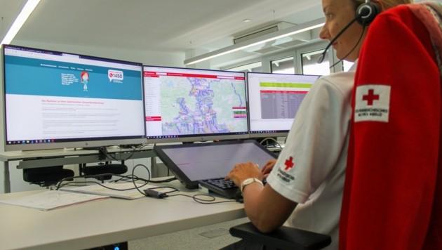 Auch das Rote Kreuz steht unter 1450 im Corona-Dienst (Bild: Rotes Kreuz Salzburg)