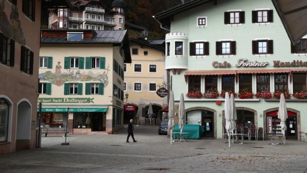 Lockdown in Berchtesgaden (Bild: AP)