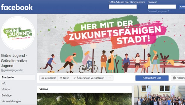 (Bild: Screenshot: facebook.com/gruenejugendat)