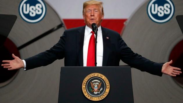 Donald Trump (Bild: AP Photo/Jeff Roberson)