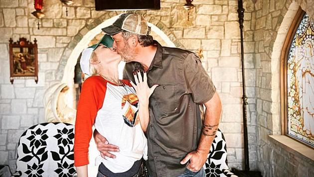 Gwen Stefani und Blake Shelton haben sich verlobt. (Bild: instagram.com/gwenstefani)