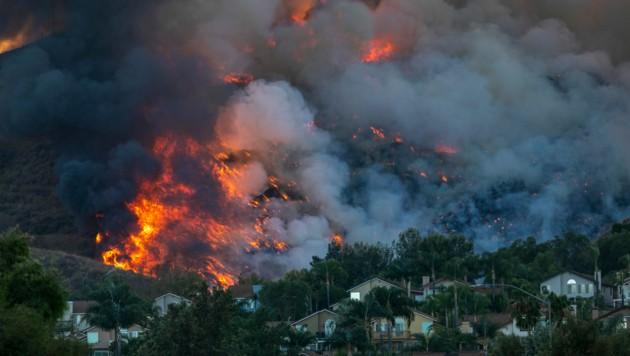 Die Luftqualität in Südkalifornien wird teilweise als ungesund eingestuft. (Bild: 2020 Getty Images)