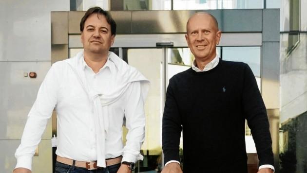 Die beiden Geschäftsführer Markus Himmelbauer (li.) und Thomas Puza (Bild: Agentur Schütze)