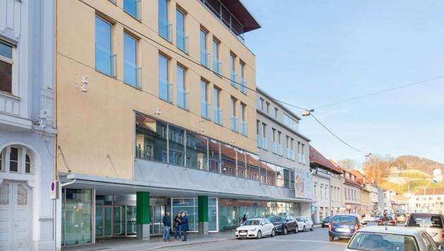 Der ehemalige Leiner-Standort in Bruck (Bild: Meieregger/Stadt Bruck)