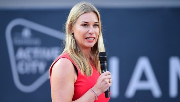 Barbara Schett (Bild: GEPA )