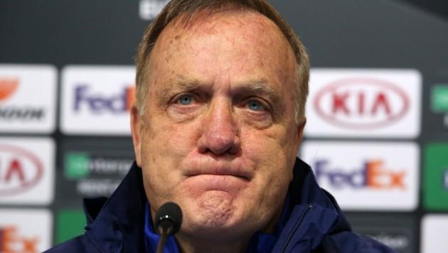 Trainer-Legende Advocaat sorgenvoll: Er hat sechs Ausfälle, keinen Stürmer mehr! (Bild: DANIEL KASAP)