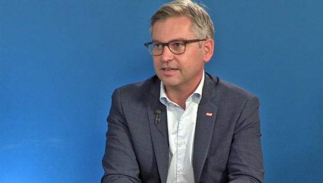 Infrastruktur-Staatssekretär Magnus Brunner (Bild: krone.tv)