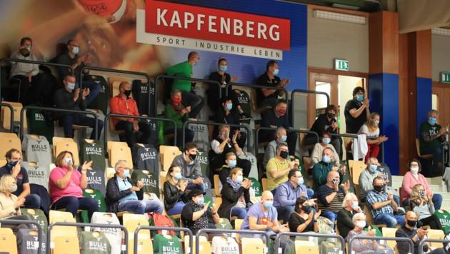 Außer Gefecht! Die Kapfenberger Fans müssen vorerst auf Basketball verzichten. (Bild: GEPA pictures)