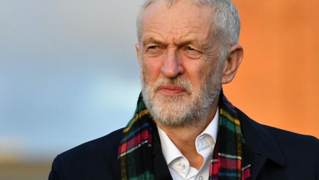 Jeremy Corbyn war von 2015 bis 2020 Parteivorsitzender und Oppositionsführer der Labour-Partei. (Bild: AFP)
