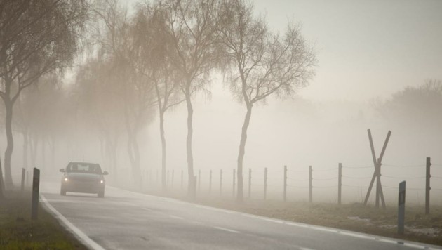 Bei Nebel muss die Geschwindigkeit angepasst werden. (Bild: Philipp Schulze)