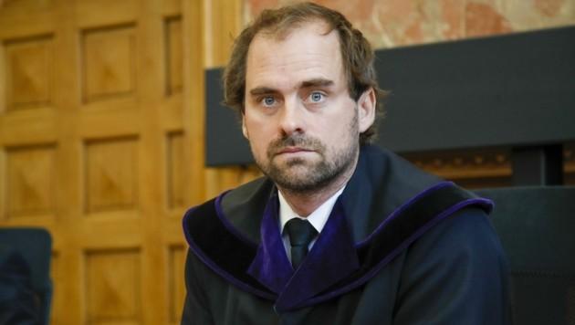 Richter Philipp Grosser verhandelte (Bild: Tschepp Markus)