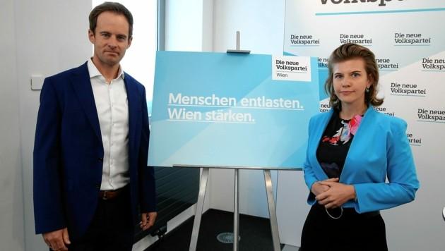 Markus Wölbitsch und Elisabeth Olischar könnten Positionen tauschen. (Bild: Klemens Groh)