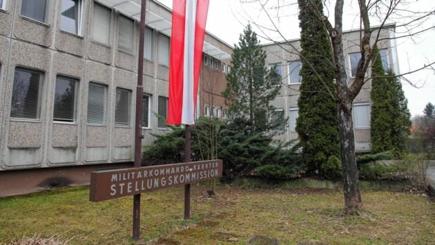Die Windisch-Kaserne in Klagenfurt. (Bild: zVg)
