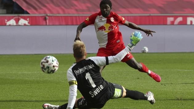 Sekou Koita rückt nach der Verletzung von Patson Daka noch mehr ins Rampenlicht. (Bild: Tröster Andreas)