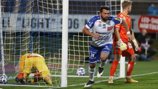 Dario Tadic steht dort, wo man stehen muss. (Bild: APA/ERWIN SCHERIAU)
