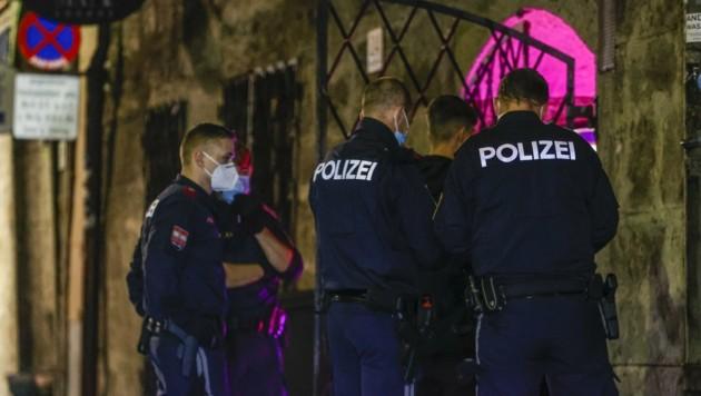 Die Polizei war im Einsatz. (Bild: Tschepp Markus)