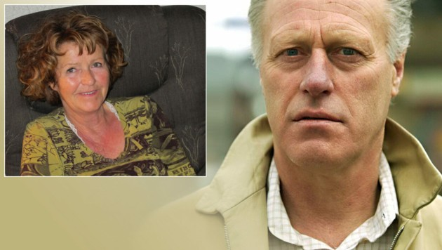 Tom Hagen vermisst seine Ehefrau Anne-Elisabeth. (Bild: APA/AFP, krone.at-Grafik)