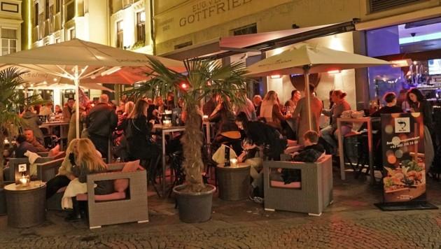 Ein letztes Mal wurde vor dem Lockdown in Graz gefeiert. (Bild: Pail Sepp)