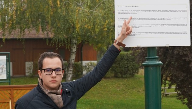 Bürgermeister Manuel Zusag (Bild: Horvath Helmut)