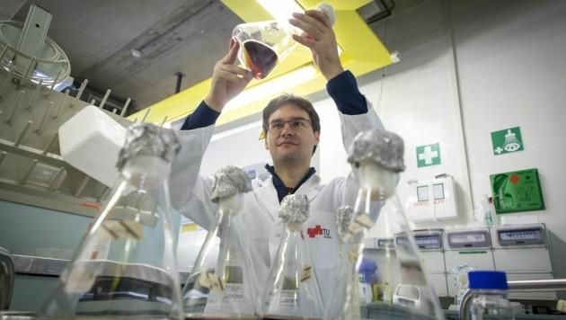 Die Forschung in den Laboren soll unter strengen Regeln weiter möglich sein. (Bild: TU Graz/Lunghammer)