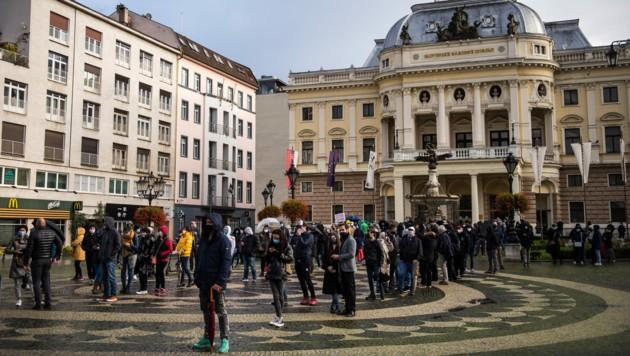 An der beispiellosen Massentest-Aktion beteiligten sich laut der slowakischen Regierung mehr als 3,6 Millionen Menschen. (Bild: AFP)
