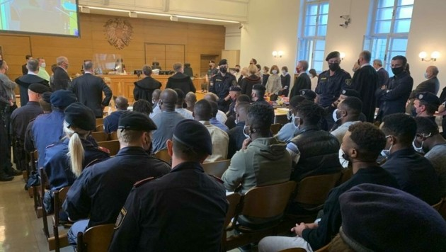Das Großverfahren gegen 19 nigerianische Drogendealer in Klagenfurt ist zu Ende gegangen. (Bild: Wassermann Kerstin)