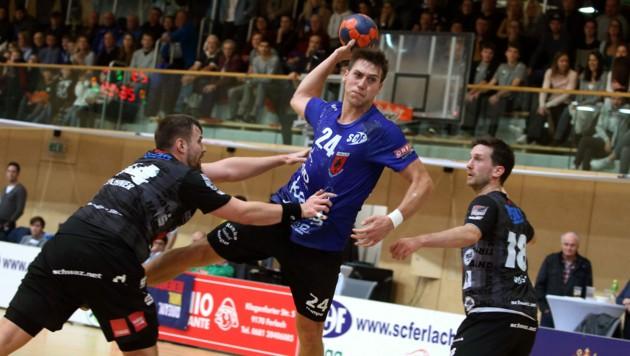 Auf Ferlach-Ass Mladan Jovanovic und Co.wartet die dritte Europacuprunde. (Bild: Kuess)