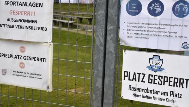 Sämtliche Sportanlagen bleiben geschlossen (Bild: Holitzky Roland)