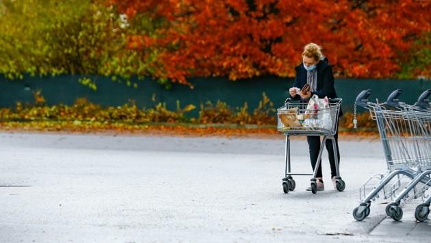 Ein ruhiger Einkaufstag war es in Bischofshofen (Bild: Gerhard Schiel)