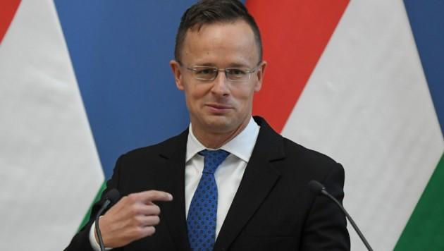 Ungarns Außenminister Peter Szijjarto (Bild: AFP)