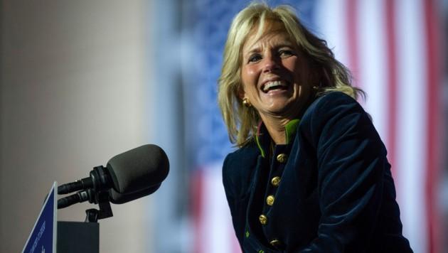 Jill Biden (Bild: APA / JIM WATSON / AFP)