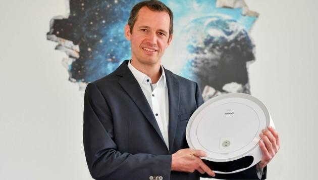 Harald Artés (Bild) gründete mit Michael Schahpar im Jahr 2009 Robart. (Bild: Harald Dostal)