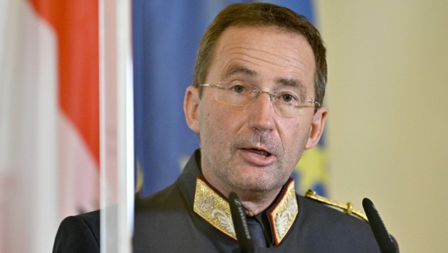 Der Wiener Polizeipräsident Gerhard Pürstl (Bild: APA/HANS PUNZ)