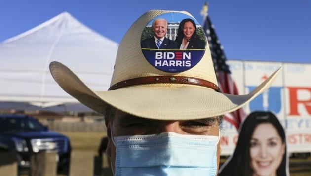 Wie Mann haben bei der heurigen US-Präsidentschaftswahl viele Texaner, die traditionell für die Republikaner stimmen, dem Demokraten Joe Biden ihre Stimme gegeben. (Bild: Denise Cathey)