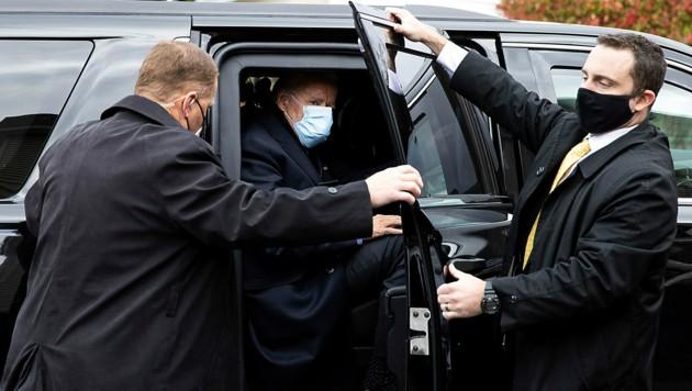 Der Secret Service folgt Präsidentschaftskandidat Joe Biden auf Schritt und Tritt. (Bild: AP)