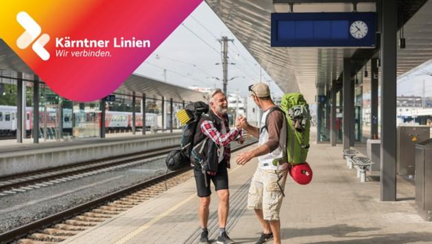 Egal wohin -mit Kärntner Linien geht es an das Ziel (Bild: Martin Steinthaler – tinefoto.com)
