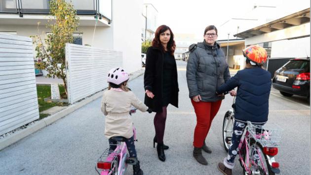 Die Kinder sollen künftig auch auf der Straße spielen dürfen. (Bild: Reinhard Judt)