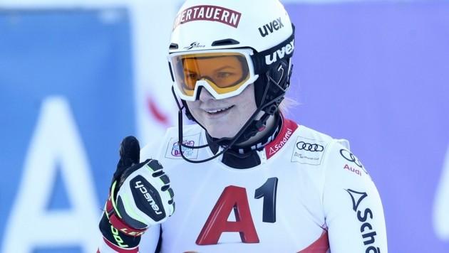 Feierte im Jänner in Zauchensee ihr Weltcup-Debüt: Lisa Grill. (Bild: Tröster Andreas)