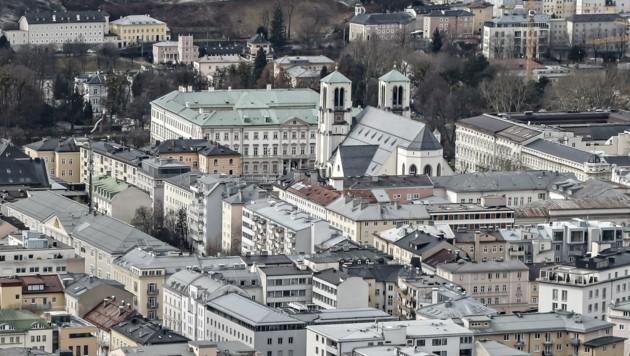 Wie sich die Stadt Salzburg in den nächsten 25 Jahren entwickelt, sollen Bürger mitgestalten (Bild: Tschepp Markus)