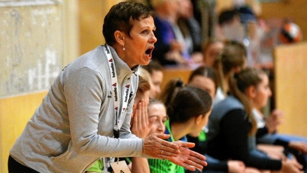 Lolita Magelinskas will mit ihren HIB-Damen nächste Woche wieder angreifen. (Bild: GEPA pictures)