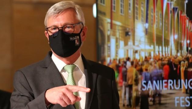 Bürgermeister Harald Preuner fühlt sich fit (Bild: Tröster Andreas)