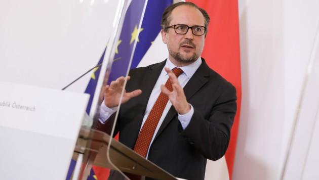 Alexander Schallenberg (ÖVP) (Bild: APA/BUNDESKANZLERAMT/ANDY WENZEL)