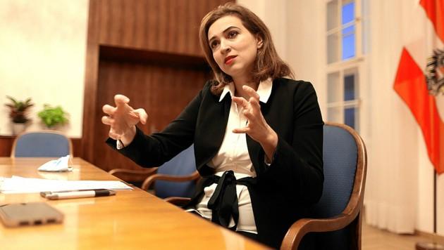 Justizministerin Alma Zadić (Bild: Gerhard Bartel)