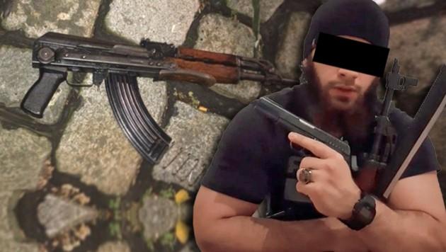 Warum wurde der Attentäter nach seiner Enthaftung nicht überwacht? (Bild: zVg, LPD WIEN, Krone KREATIV)