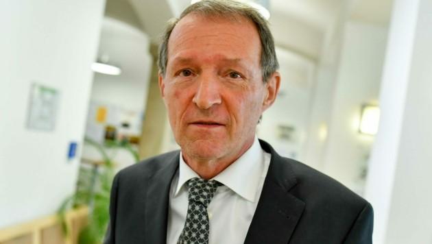 Wolfgang Blaschitz erlitt einen Herzinfarkt. (Bild: Harald Dostal)