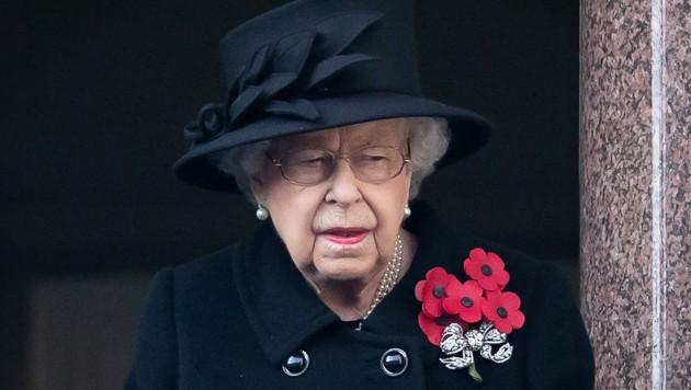 Queen Elizabeth II. (Bild: APA/Photo by Aaron Chown / POOL / AFP)