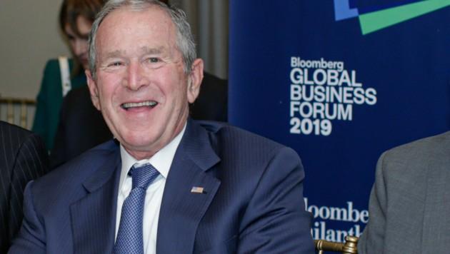 Der ehemalige US-Präsident George W. Bush gratulierte Joe Biden zum Sieg bei der Präsidentschaftswahl. (Bild: AFP )