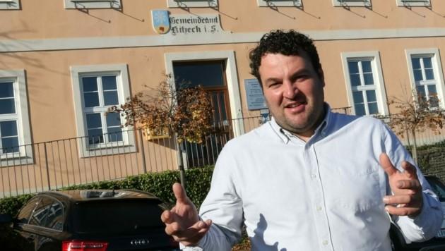 Kitzecks Bürgermeister Josef Fischer war selbst Patient beim falschen Arzt. (Bild: Jauschowetz Christian)