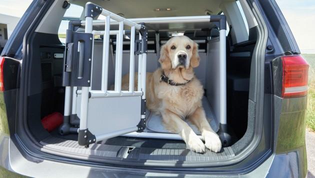 Boxen für den Kofferraum sind die beste Lösung (Bild: ÖAMTC/Rattay)
