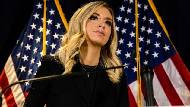 White House Press Secretary Kayleigh McEnany erneuerte die Betrugsvorwürfe rund um die US-Wahl, ebenfalls ohne Beweise dafür zu nennen. (Bild: AFP)